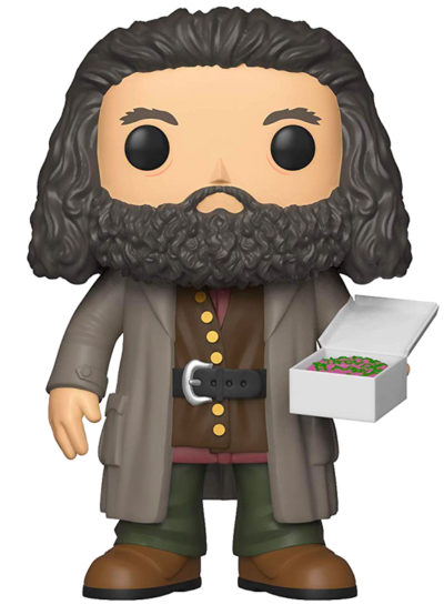 #78 Rubeus Hagrid (With Birthday Cake) (6″ Super Sized Pop) | Harry Potter Funko Pop! Vinyl