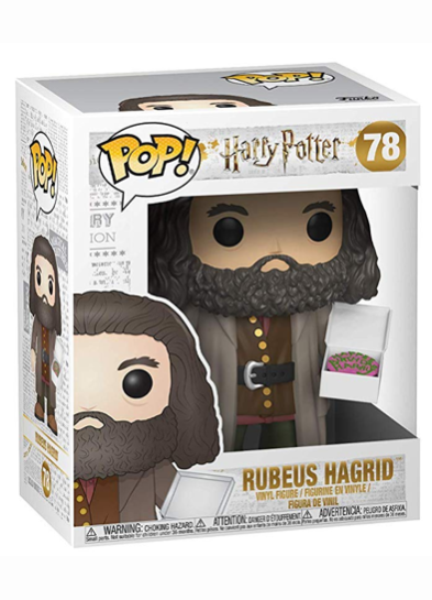 #78 Rubeus Hagrid (With Birthday Cake) (6″ Super Sized Pop) | Harry Potter Funko Pop! Vinyl in box