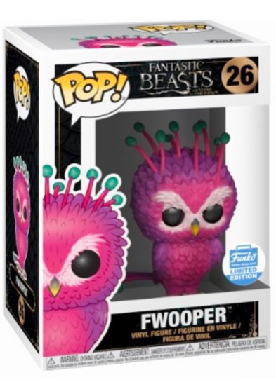 #26 Fwooper | Fantastic Beasts Funko Pop! Vinyl in box