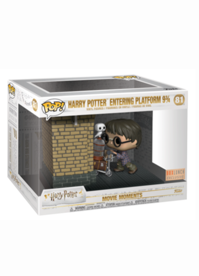 #81 Harry Potter (Entering Platform 9 ¾) (Movie Moment) | Harry Potter Funko Pop! Vinyl in box