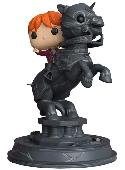 #82 Ron Weasley (Riding Chess Piece) (Movie Moment) | Harry Potter Funko Pop! Vinyl