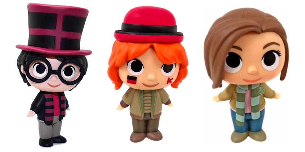 Harry, Ron and Hermione Quidditch World Cup Mystery Mini Series 3