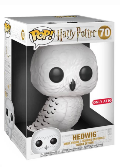 #70 Hedwig (10″ Super Sized Pop) | Harry Potter Funko Pop! Vinyl in box