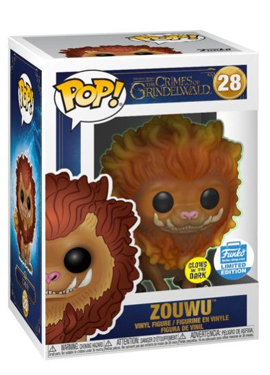 #28 Zouwu (Glow In The Dark) | Fantastic Beasts Funko Pop! Vinyl in box