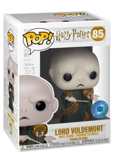 #85 Voldemort (With Nagini) | Harry Potter Funko Pop! Vinyl in box