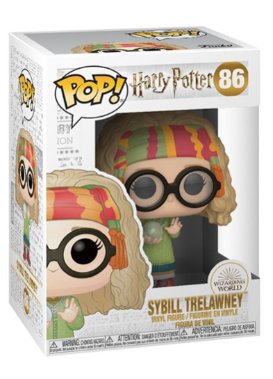 #86 Sybill Trelawney | Harry Potter Funko Pop! Vinyl in box