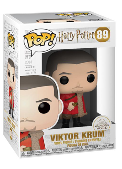 #89 Viktor Krum (Yule Bal) | Harry Potter Funko Pop! Vinyl in box