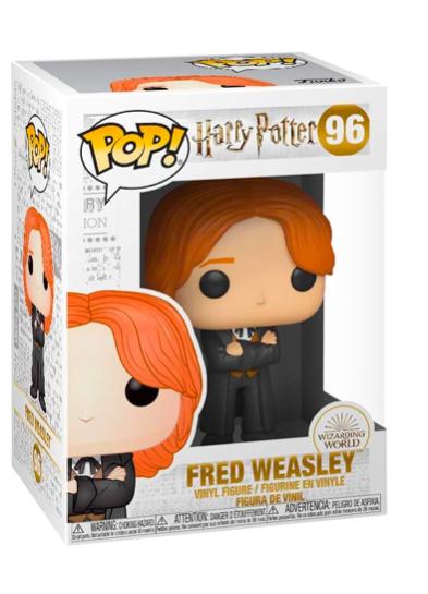 #96 Fred Weasley (Yule Ball)   Harry Potter Funko Pop! Vinyl in box