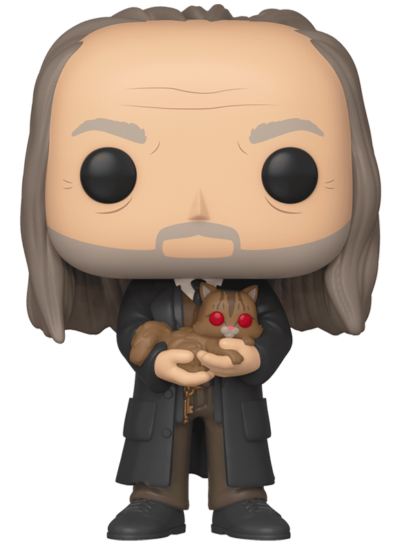 #101 Argus Filch (With Mrs. Norris) (Yule Ball) | Harry Potter Funko Pop! Vinyl