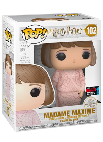 #102 Madame Maxime (Yule Ball) | Harry Potter Funko Pop! Vinyl in box
