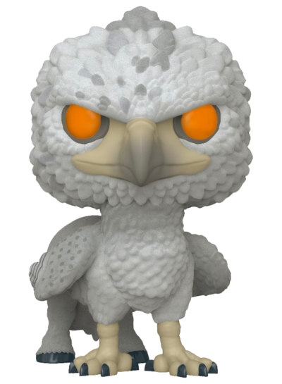 #104 Buckbeak (Flocked) | Harry Potter Funko Pop! Vinyl