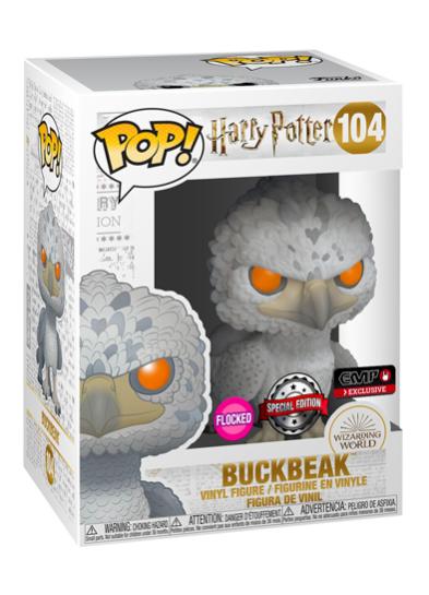 #104 Buckbeak (Flocked) | Harry Potter Funko Pop! Vinyl in box