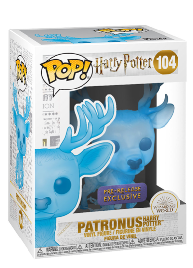 #104 Patronus (Harry Potter) | Harry Potter Funko Pop! Vinyl in box