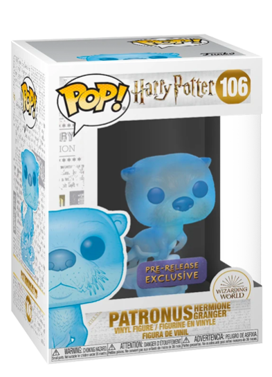 #106 Patronus (Hermione Granger) | Harry Potter Funko Pop! Vinyl in box