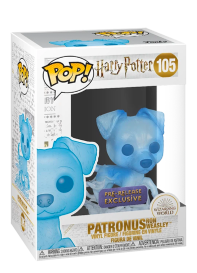 #105 Patronus (Ron Weasley) | Harry Potter Funko Pop! Vinyl in box