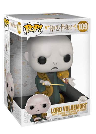 #109 Lord Voldemort (With Nagini) (10″ Super Sized Pop)   Harry Potter Funko Pop! Vinyl in box