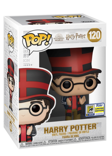 #120 Harry Potter (Quidditch World Cup) | Harry Potter Funko Pop! Vinyl in box