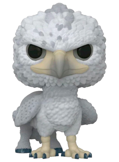 #104 Buckbeak (Black Eyes) (Flocked) | Harry Potter Funko Pop! Vinyl
