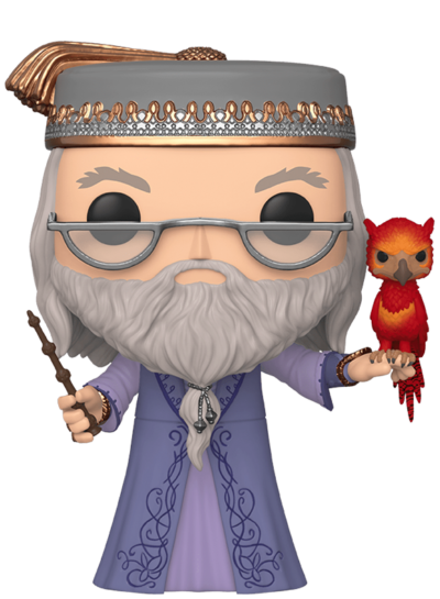 #110 Albus Dumbledore (With Fawkes) (10″ Super Sized Pop) | Harry Potter Funko Pop! Vinyl