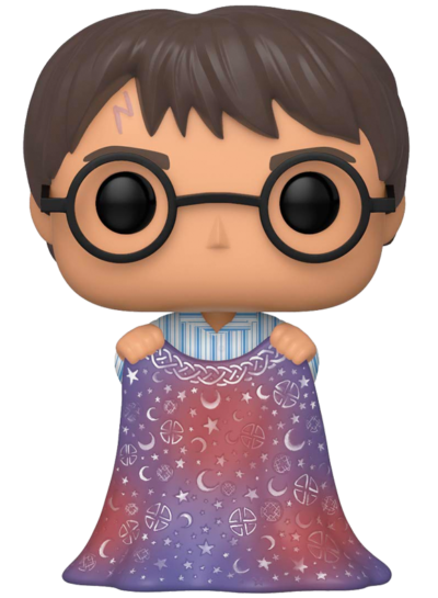 #112 Harry Potter (With Invisibility Cloak) | Harry Potter Funko Pop! Vinyl
