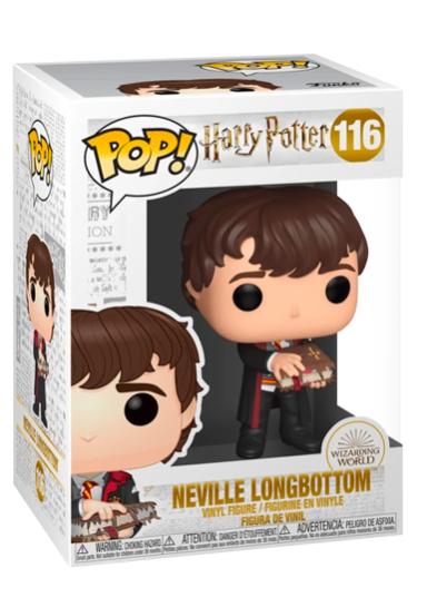 #116 Neville Longbottom (With Monster Book) | Harry Potter Funko Pop! Vinyl in box