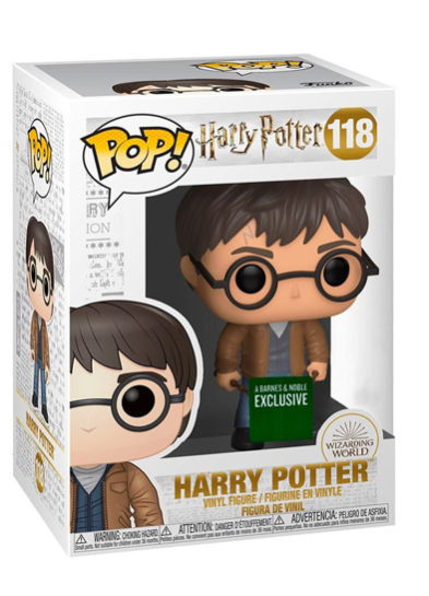 #118 Harry Potter (With Two Wands) | Harry Potter Funko Pop! Vinyl in box