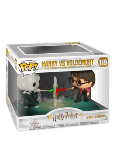 #119 Harry Vs. Voldemort (Movie Moment) | Harry Potter Funko Pop! Vinyl in box