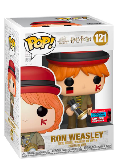 #121 Ron Weasley (Quidditch World Cup) | Harry Potter Funko Pop! Vinyl in box
