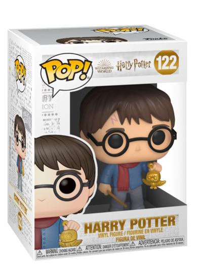 #122 Harry Potter (Holiday) | Harry Potter Funko Pop! Vinyl in box