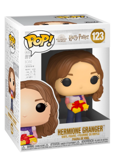 #123 Hermione Granger (Holiday) | Harry Potter Funko Pop! Vinyl in box
