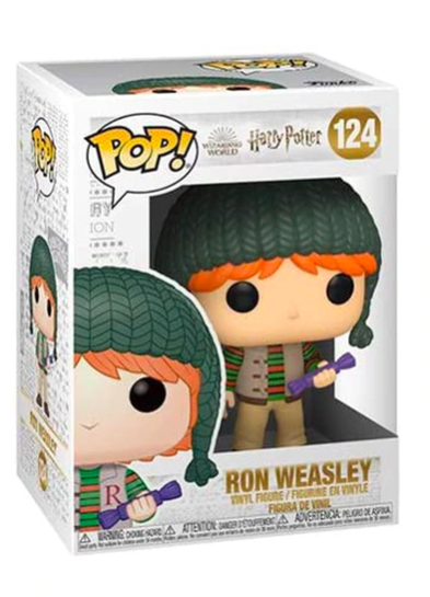#124 Ron Weasley (Holiday) | Harry Potter Funko Pop! Vinyl in box