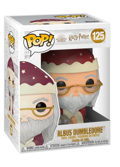 #125 Albus Dumbledore (Holiday) | Harry Potter Funko Pop! Vinyl in box