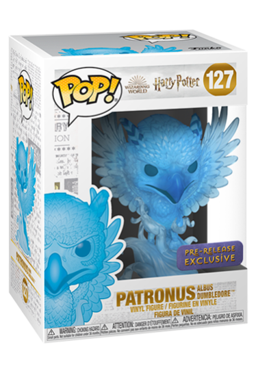 #127 Patronus (Albus Dumbledore) | Harry Potter Funko Pop! Vinyl in box