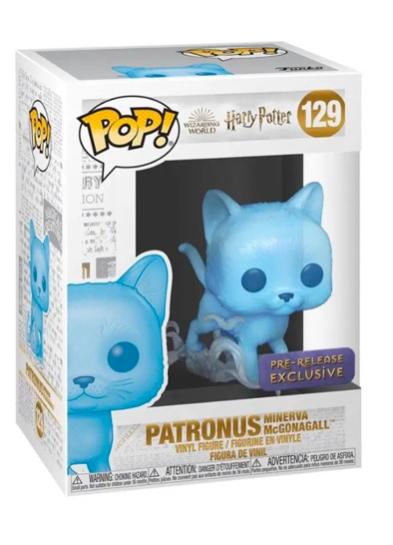 #129 Patronus (Minerva McGonagall) | Harry Potter Funko Pop! Vinyl in box