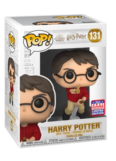 #131 Harry Potter (With Winged Key)   Harry Potter Funko Pop! Vinyl in box